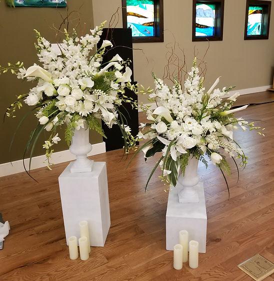 Vanda Orchid wedding faux floral