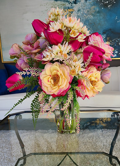 """""""Real Touch"""" Roses, Tulips, Orchids"""