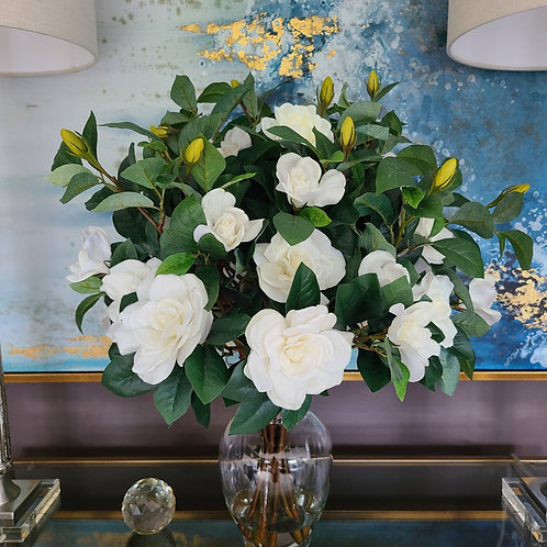 Large Real Touch Gardenia Bouquet