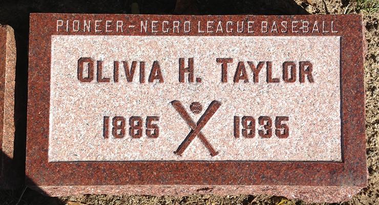 Olivia Taylor's Headstone