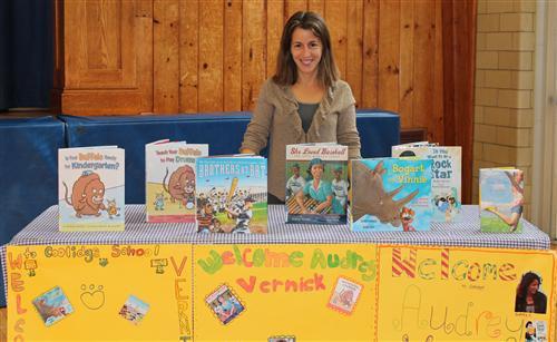 Audrey Vernick – Book Author
