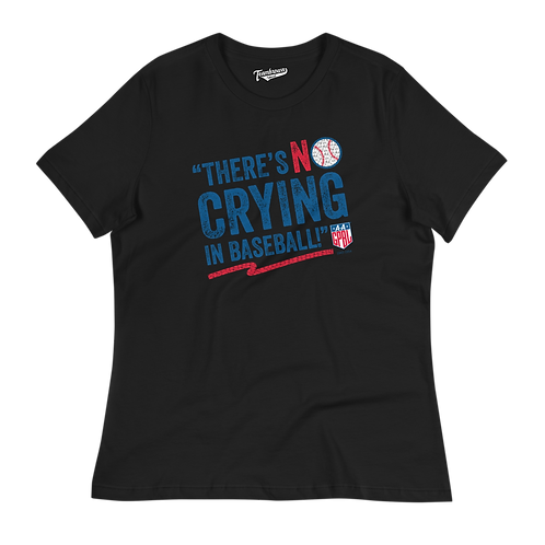 AAGPBL - No Crying In Baseball - Women's Loose Fit T-Shirt (Various Colors)
