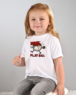 Play Ball - Toddler T-Shirt (Wholesale)