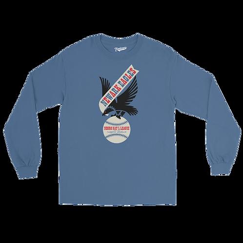 NNL Newark Eagles - Unisex Long Sleeve Crew T-Shirt