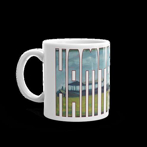 Hamtramck Stadium by Andy Brown - Logo 11oz Mug