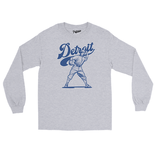 Detroit (City Series) - Unisex Long Sleeve Crew T-Shirt