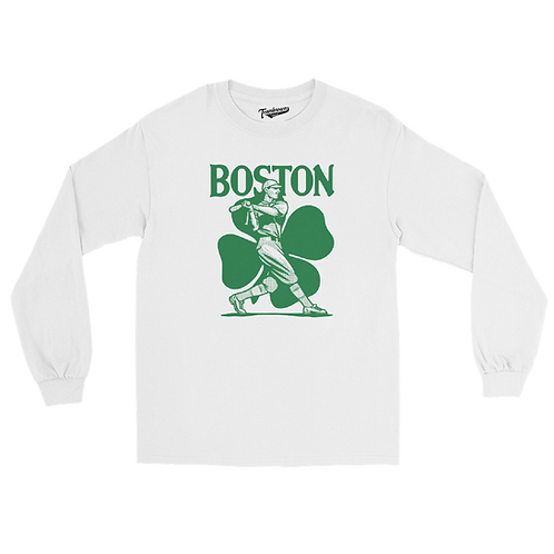 Boston (City Series) - Unisex Long Sleeve Crew T-Shirt