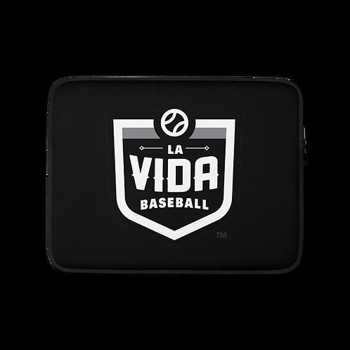 La Vida Baseball Laptop Case