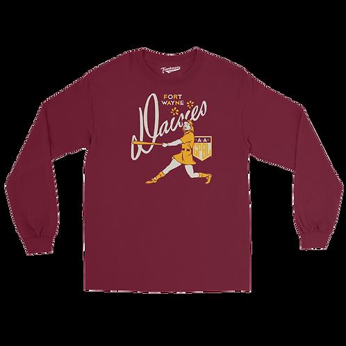 Diamond - Fort Wayne Daisies - Unisex Long Sleeve Crew T-Shirt