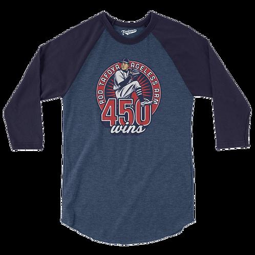 TBA Custom - The Ageless Arm - Rod Tafoya Baseball T-Shirt