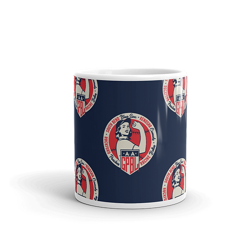Diamond - AAGPBL Original 4 - WOTD 11oz Mug