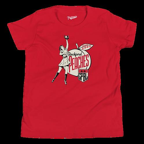 Diamond - Rockford Peaches Kids T-Shirt (Various Colors)
