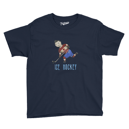 Ice Hockey - Kids T-Shirt (Various Colors)