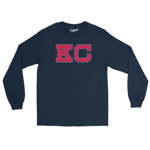 Kansas City Monarchs KC Unisex Long Sleeve Crew T-Shirt