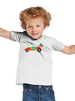 Race Car Birthday - Toddler T-Shirt (Wholesale)