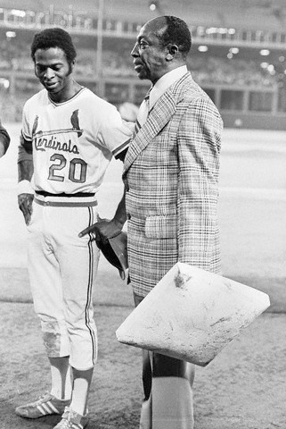 Lou Brock and Cool Papa Bell