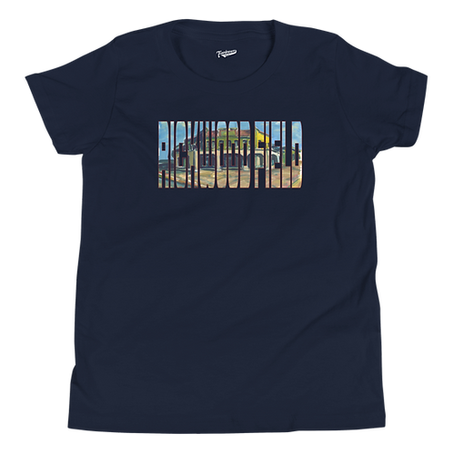 Rickwood Field by Andy Brown - Kids T-Shirt