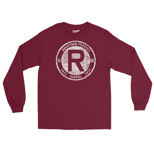 Rockford Peaches '43-'54 - Unisex Long Sleeve Crew T-Shirt