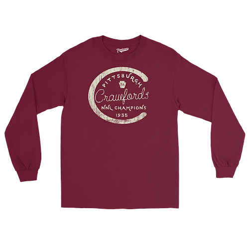1935 Champions - Pittsburgh Crawfords - Unisex Long Sleeve Crew T-Shirt