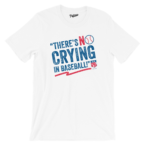 AAGPBL No Crying In Baseball Unisex T-Shirt (Various Colors)