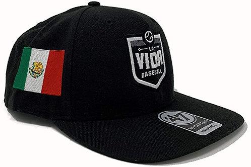 La Vida Baseball - Dad Hat with Country Flag Logo