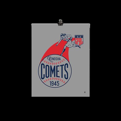 WOTD Kenosha Comets by Gary Cieradkowski - Matte Paper Giclée