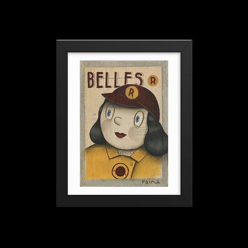 Racine Belles by Paine Proffitt - Giclée-Print Framed