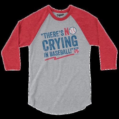 AAGPBL No Crying In Baseball - Unisex Baseball Shirt