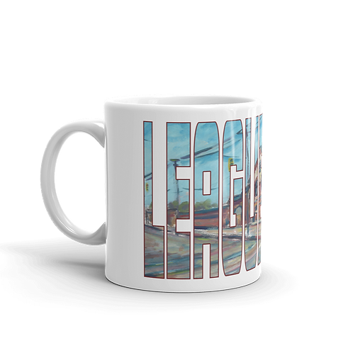 League Park by Andy Brown - Logo 11oz Mug