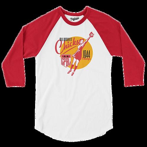 Diamond - Milwaukee Chicks - Baseball Shirt