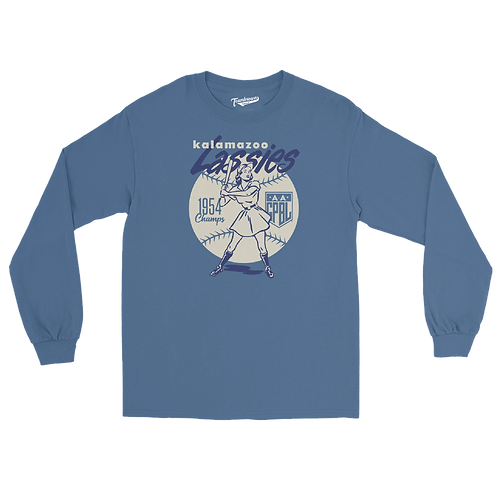 Diamond - Kalamazoo Lassies - Unisex Long Sleeve Crew T-Shirt