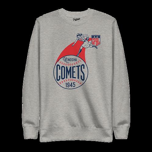 Diamond - Kenosha Comets - Unisex Fleece Pullover Crewneck