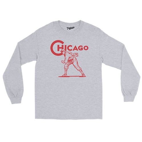 Chicago (City Series) - Unisex Long Sleeve Crew T-Shirt