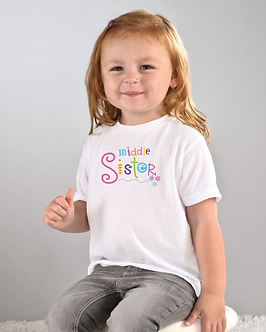 Middle Sister - Toddler T-Shirt (Wholesale)