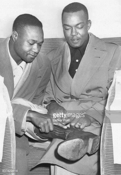 Hank Thompson and Monte Irvin