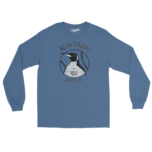 Dallas Penguins (Original) - Unisex Long Sleeve Crew T-Shirt