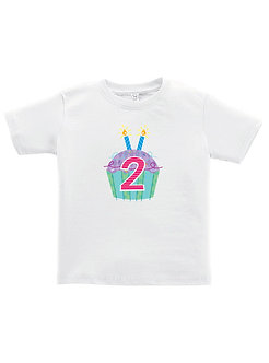 Cupcake 2nd Birthday - Toddler T-Shirt