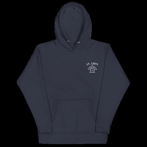 1930 Champions - St. Louis Stars Embroidered Premium Hoodie