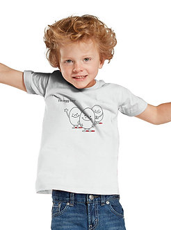 I'm Egg Free - Toddler T-Shirt (Wholesale)