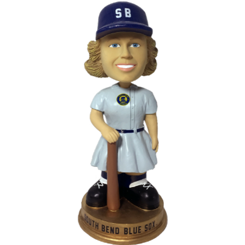 South Bend Blue Sox AAGPBL Vintage Bobbleheads (PRESALE)