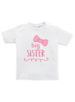 Big Sister - Bow - Toddler T-Shirt (Wholesale)