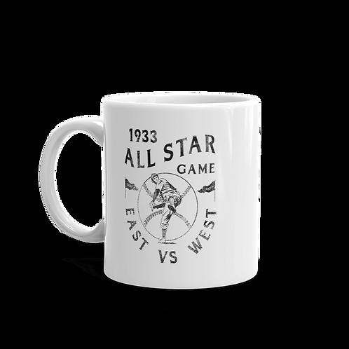 1933 East vs West All Star Game 11oz Mug