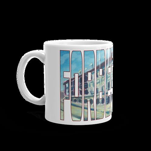 Forbes Field by Andy Brown - Logo 11oz Mug