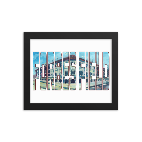 Forbes Field by Andy Brown - Giclée-Print Framed