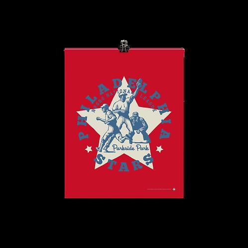 NNL Philadelphia Stars by Gary Cieradkowski - Matte Paper Giclée