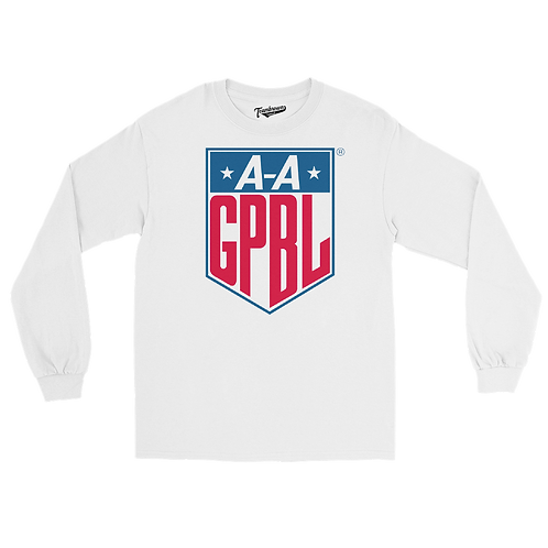 AAGPBL Shield Long Sleeve Crew T-Shirt