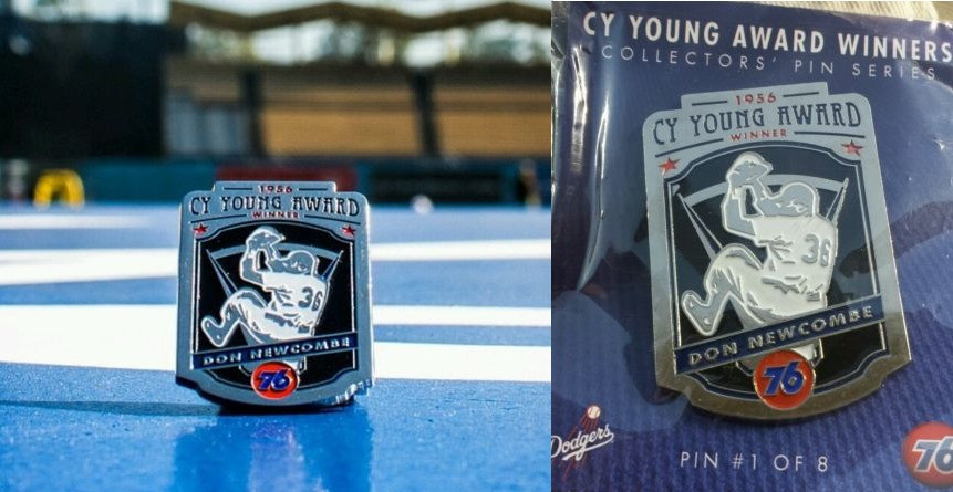 Newcombe wins first Cy Young award