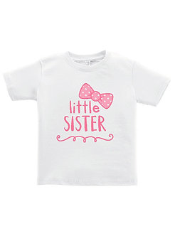 Little Sister - Bow - Toddler T-Shirt