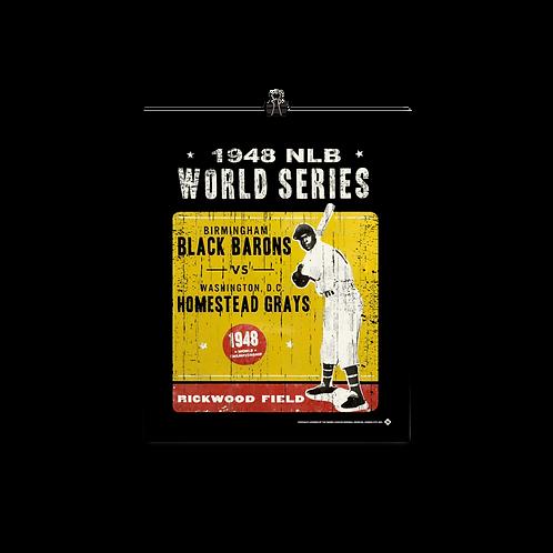 1948 NLB World Series - Matte Paper Giclée