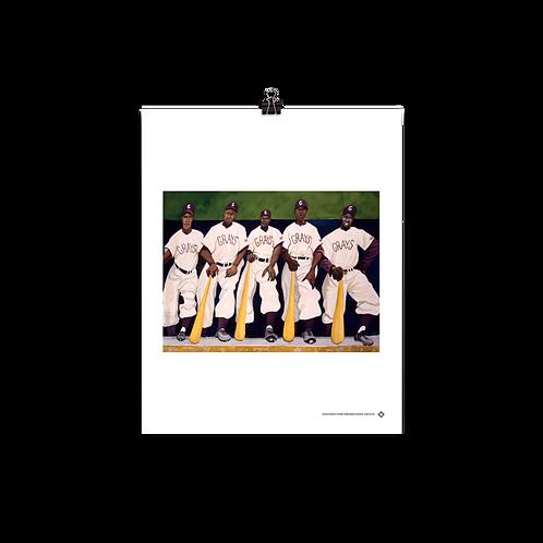 Grays by Dane Tilghman - Matte Paper Giclée-Print